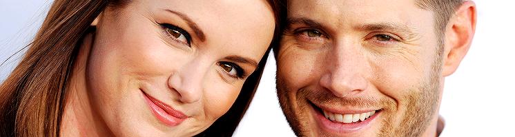 Danneel and Jensen attend the 2014 Critics Choice Awards