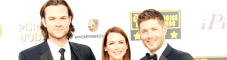 Jensen and Danneel walk the Red Carpet