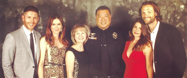 Danneel Attends The Austin Police Departments Ceremony