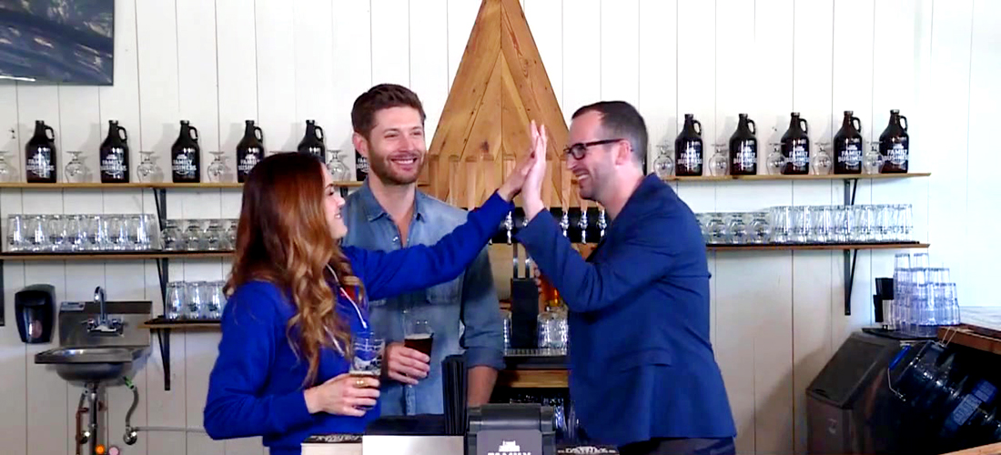 Danneel and Jensen Ackles Talk Family, Beer and the 'Supernatural'