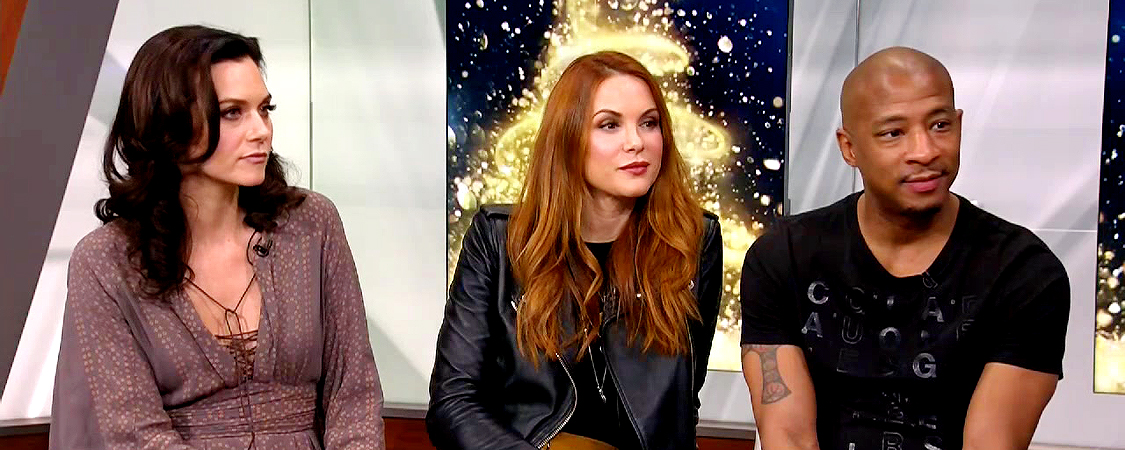 US Weekly Facebook Live Interview & New York Live Appearance With Danneel & Cast