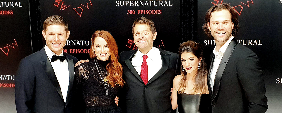 Danneel Attends The Supernatural 300th Episode Celebration