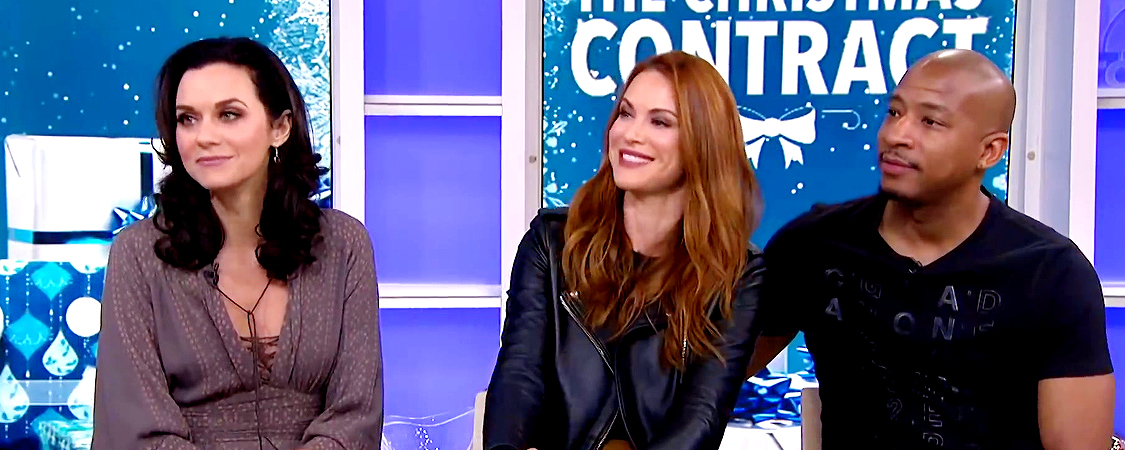 Danneel Appears On The Today Show To Promote The Christmas Contract