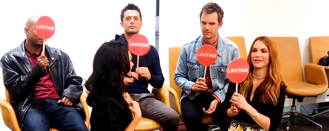 One Tree Hill Cast Plays Game with TV Guide