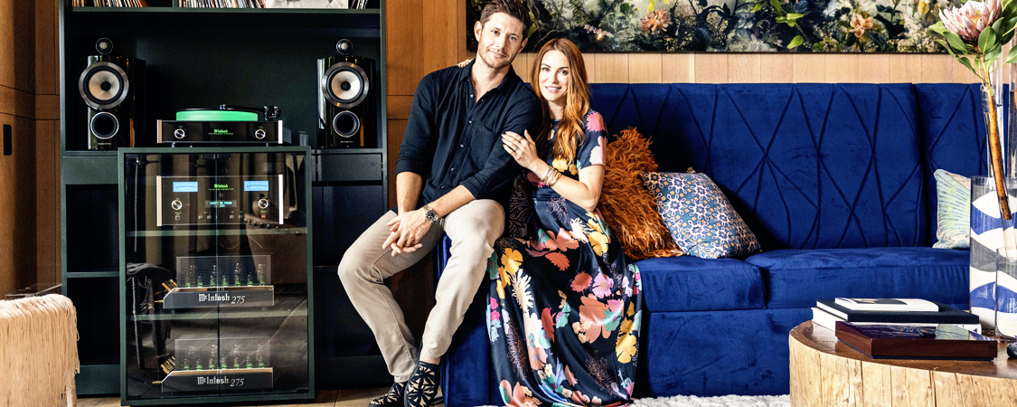 Danneel and Jensen Show Off Their Home For Architectural Digest